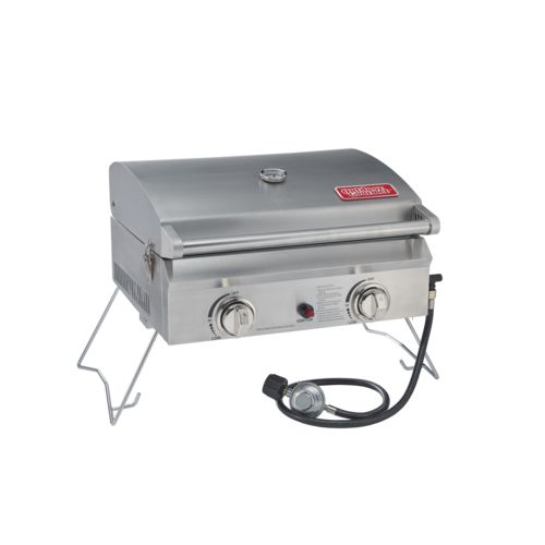 Display product reviews for Outdoor Gourmet 2-Burner Gas Portable Grill
