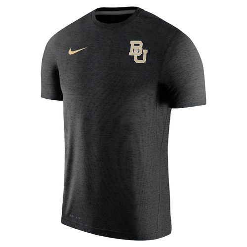 Nike Men's Baylor University Dry Top Coaches Short Sleeve T-shirt