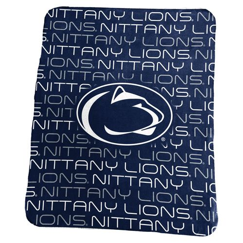 Logo Penn State 50 in x 60 in Classic Fleece Blanket