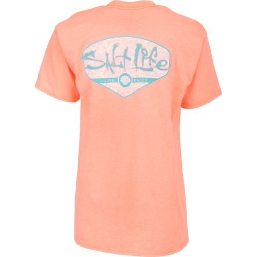 Salt Life Women's Tropescado Shell Short Sleeve T-shirt