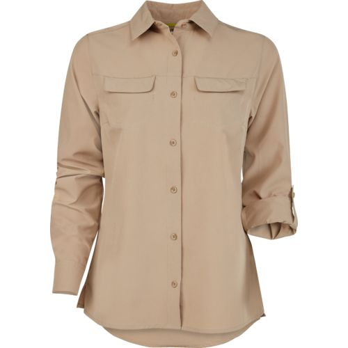 Magellan outdoors women 39 s no fly zone long sleeve shirt for Magellan women s fishing shirts