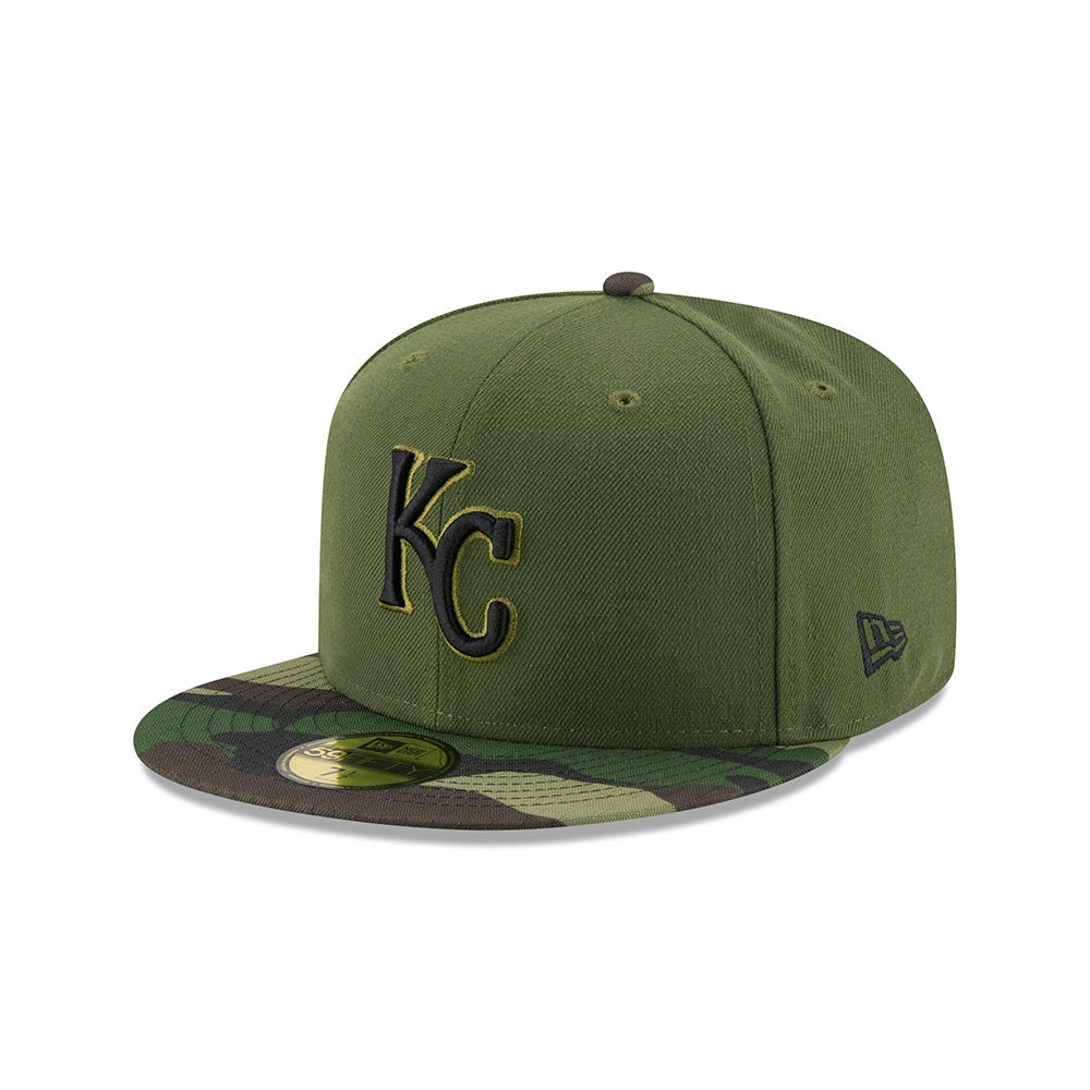 New Era Men's Kansas City Royals SE17 Memorial Day 59FIFTY Cap