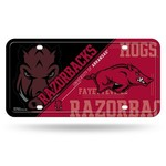 Rico University of Arkansas Metal Auto Tag - view number 1