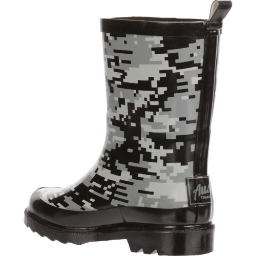 Austin Trading Co. Boys' Digi Camo Rubber Boots - view number 3