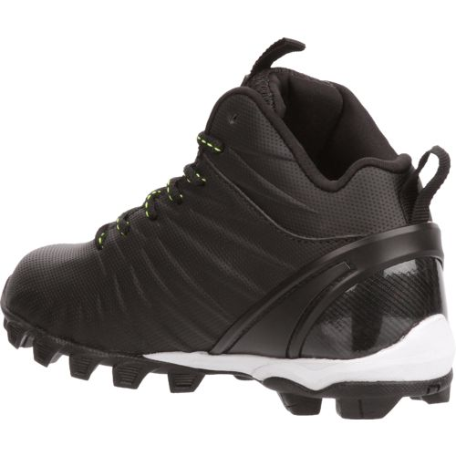 Rawlings Boys' Rumble Mid Football Cleats - view number 3