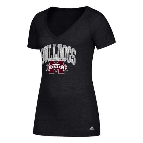 adidas Women's Mississippi State University Inside Pattern Arch T-shirt