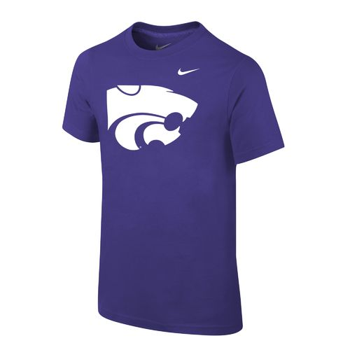 Nike Boys' Kansas State University Logo T-shirt - view number 1