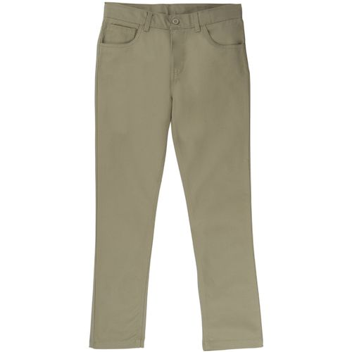 French Toast Boys' Slim-Fit 5-Pocket Uniform Pant