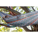 Twisted Root Design Teal Tribal Hammock - view number 5