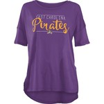 Three Squared Juniors' East Carolina University Script T-shirt - view number 1