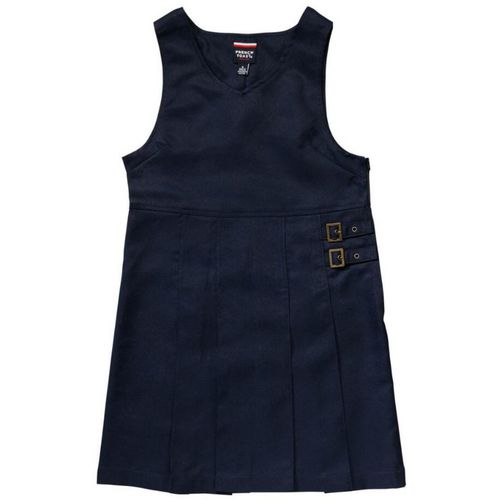 French Toast Girls' Twin Buckle Tab Uniform Jumper