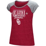 Colosseum Athletics Girls' University of Oklahoma Sprints T-shirt - view number 1