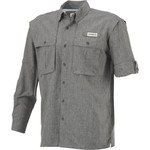 Magellan Outdoors Men's Aransas Pass Heather Long Sleeve Fishing Shirt - view number 3