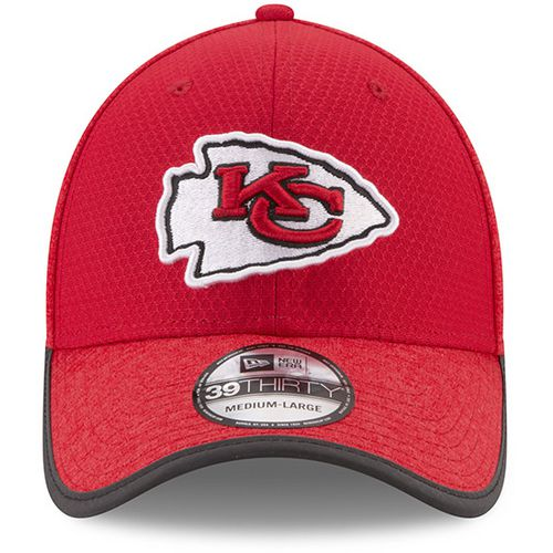 New Era Men's Kansas City Chiefs 39THIRTY Onfield Team Training Cap - view number 6