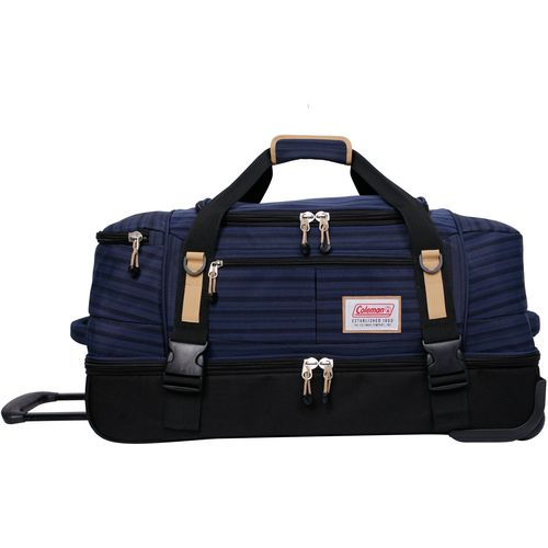 Coleman 26 in Rolling Drop-Bottom Duffel Bag
