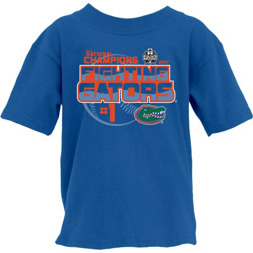 Blue 84 Men's University of Florida College World Series Top Dog T-shirt