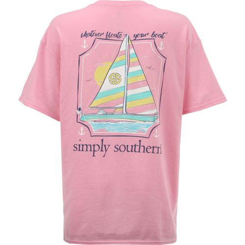 Simply Southern Women's Boat T-shirt - view number 1