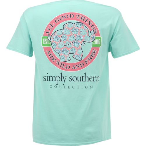 Display product reviews for Simply Southern Women's Elephant T-shirt