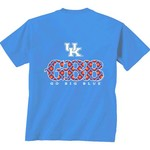 New World Graphics Women's University of Kentucky Comfort Color Initial Pattern T-shirt - view number 1