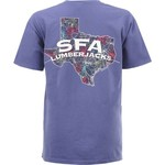 New World Graphics Women's Stephen F. Austin State University Comfort Color Puff Arch T-shirt - view number 1