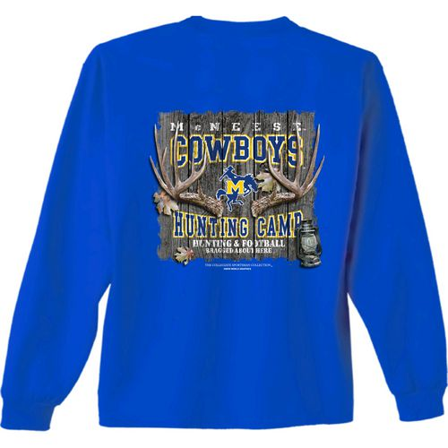 New World Graphics Men's McNeese State University Hunt Long Sleeve T-shirt