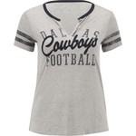 Dallas Cowboys Women's Bennett Slit T-shirt - view number 1