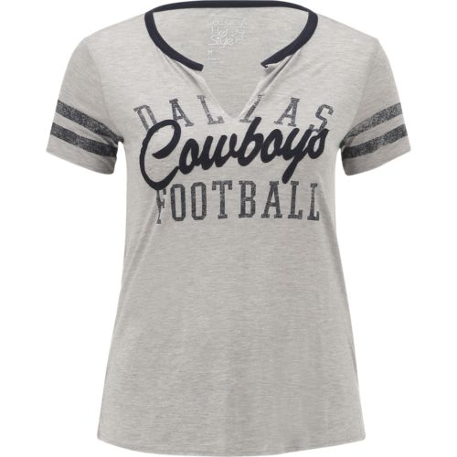 Dallas Cowboys Women's Bennett Slit T-shirt