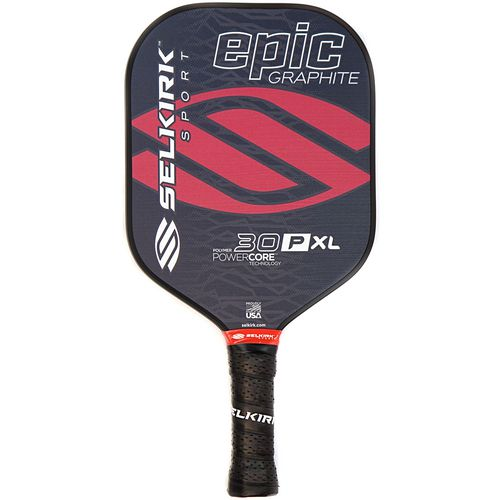 Selkirk Sport 30P XL Epic Polymer Honeycomb Core Graphite Pickleball Paddle