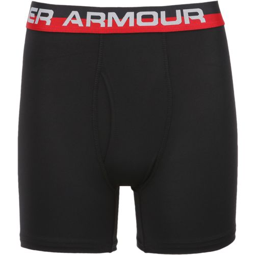 Under Armour Boys' Performance Boxer Briefs 2-Pack - view number 1