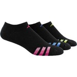 adidas Women's Cushioned Variegated No-Show Socks 3 Pack - view number 1