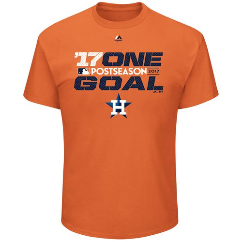 Majestic Men's Astros '17 One Goal T-Shirt