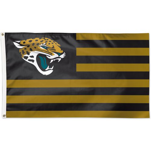 WinCraft Jacksonville Jaguars Americana 3 ft x 5 ft Deluxe Flag