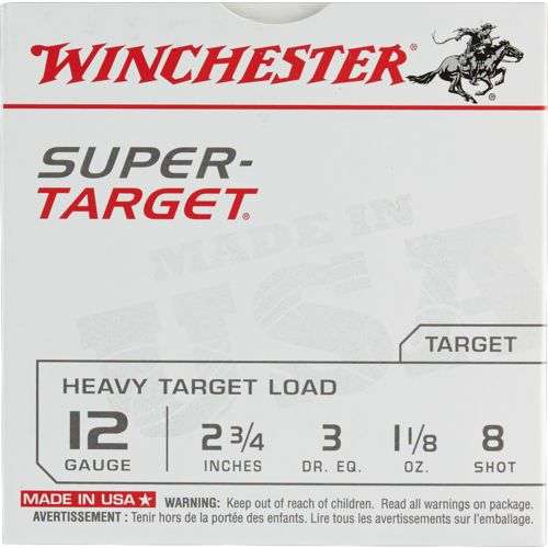 Display product reviews for Winchester Target Load 12 Gauge 8 Shotshells