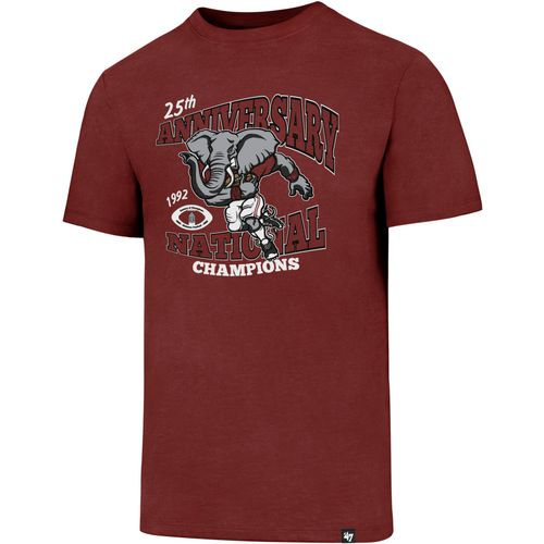 '47 University of Alabama 25th Championship Anniversary Club T-shirt