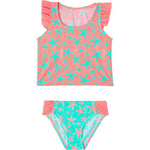 O'Rageous Girls' Starfish Party 2-Piece Tankini Swimsuit