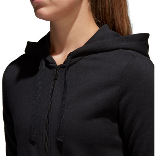 adidas Women's Essentials Linear Full Zip Hoodie - view number 7