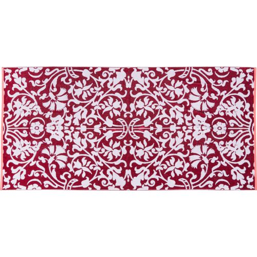 O'Rageous Damask 35 in x 70 in Oversize Jacquard Beach Towel