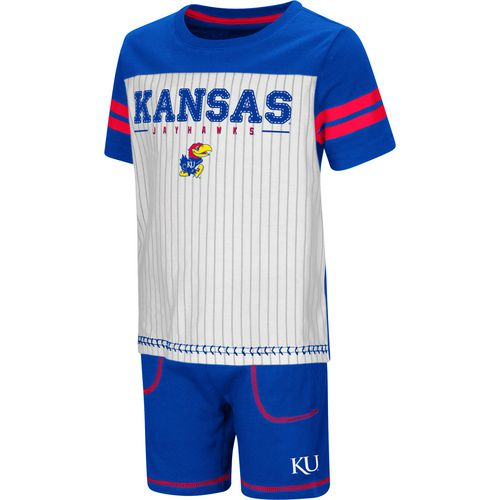 Colosseum Athletics Toddler Boys' University of Kansas Great Bambino 2-Piece Set