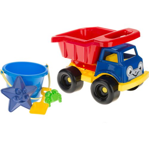American Plastic Toys Truck Full of Toys