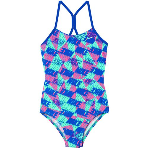 Nike Girls' Racerback 1-Piece Swimsuit