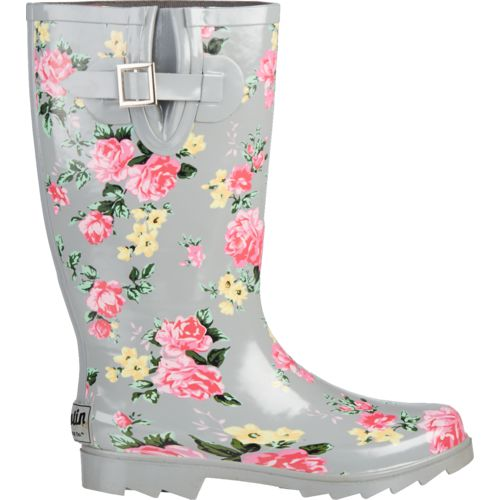 Austin Trading Co. Women's Floral Rubber Boots - view number 1