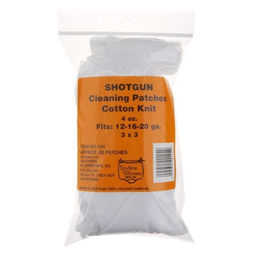 Display product reviews for Southern Bloomer Shotgun Cleaning Patches 85-Pack
