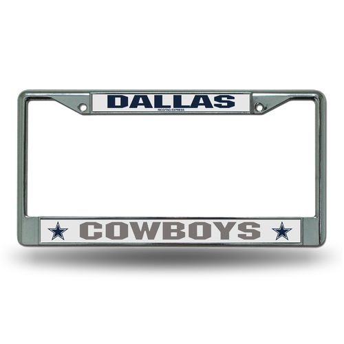 Tag Express Team Chrome License Plate Frame