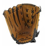 "Wilson Adults' A360 14"" Slow-Pitch Softball Glove Left-hand throw"