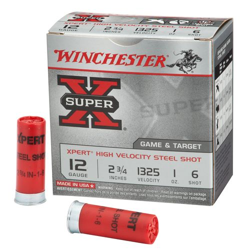 Winchester Xpert® Steel Upland Game and Target Load 12 Gauge Shotshells