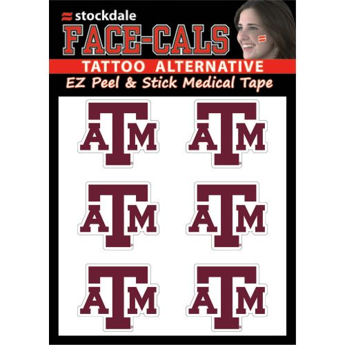 Stockdale Face-Cals NCAA Decals