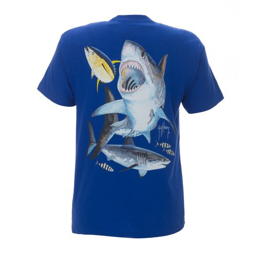 Image for Guy Harvey Boys' Great White T-Shirt from Academy