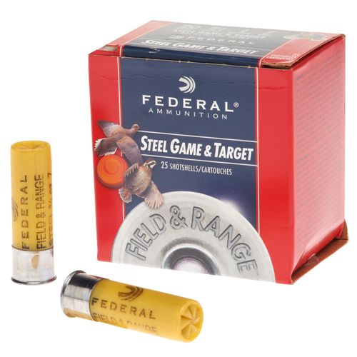 Federal Premium Field & Range Steel Game & Target 20 Gauge Shotshells - view number 1