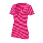Nike Women's Jersey Stripe Deep V-neck Top