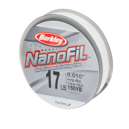 Berkley® Nanofil™ 17 lb. - 150 yards Unifilament
